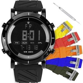 Relógio Tuguir Masculino Troca Pulseira Original Tg60176152