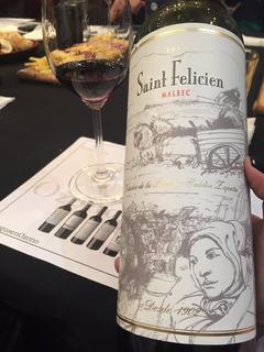Vino Saint Felicien Cabernet Franc Compañía Del Vino
