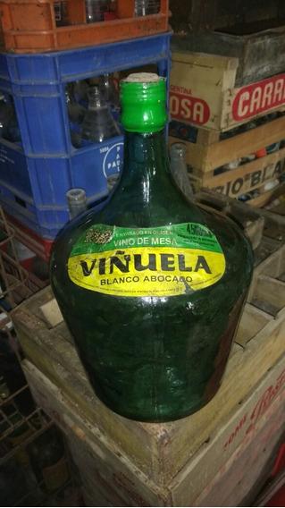 Antigua Damajuana De Vino Blanco Viñuela