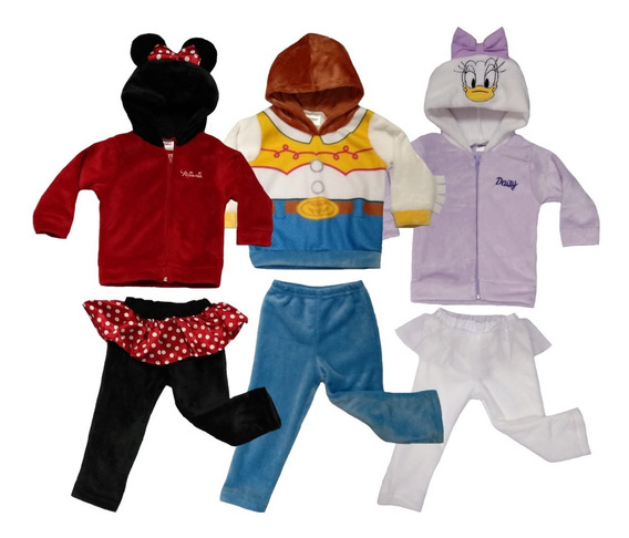 Kit 3 Conjuntos Disney Minnie, Daysi, Jessie A Precio De 2