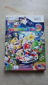 Jogo Wii Mario Party 9 Lacrado E Fábrica Com Luva