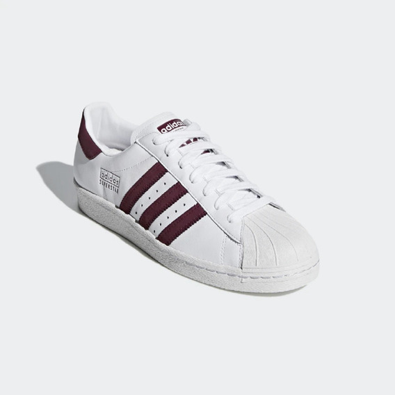 Tênis adidas Superstar 80s Branco Original - Footlet