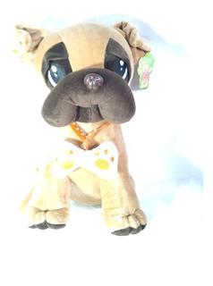Perro Pug Dog De Peluche 35 Cm