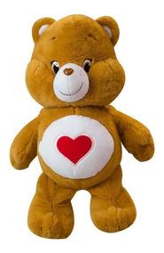 Ursinhos Carinhosos Pelúcias Marrom Coração