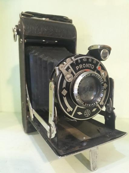 Câmera Fotográfica Analógica Antiga Filme 120mm