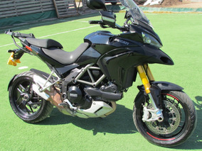 Ducati Multistrada 1200 Cc Color Negro 2013