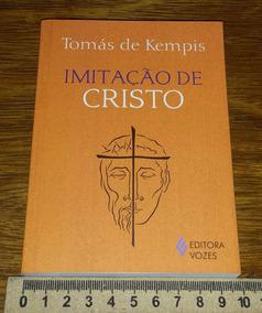 Imitação De Cristo Tomás De Kempis Livro Em Português Novo