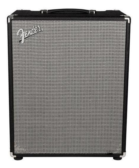 Amplificador Fender Rumble 500 Transistor 500W negro y plata 220V