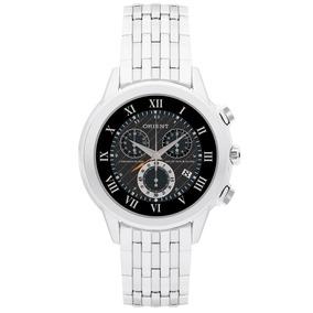 Relógio Orient Masculino Cronógrafo Preto Mbssc012 P3sx