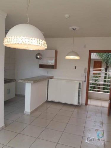 Imagem 1 de 13 de Flat Com 1 Dormitório À Venda, 46 M²- Jardim Botânico - Ribeirão Preto/sp - Fl0029