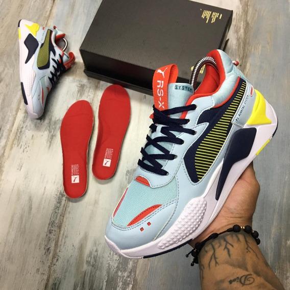 Tenis Zapatillas Puma Rs-x Running Ferrari Hombre