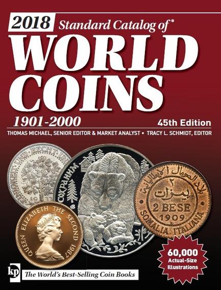 Catalogo De Monedas World Coins 1901-2000 45th Edition