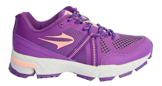 Zapatillas Topper Running Lady Spartan Mujer Violeta