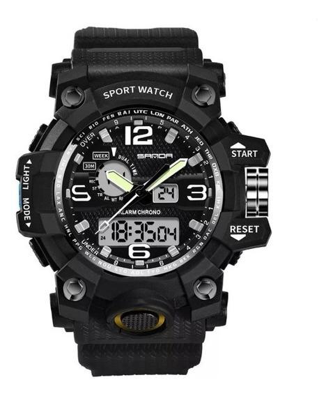 Relógio Masculino Smael 742 G Shock Analógico Digital Sport
