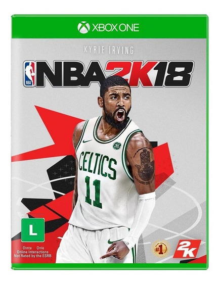 Jogo Nba 2k18 - Xbox One - Novo - Física - Lacrado