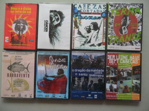 8 Filmes - Glauber Rocha - Coleção Cult (24,90 Cada)