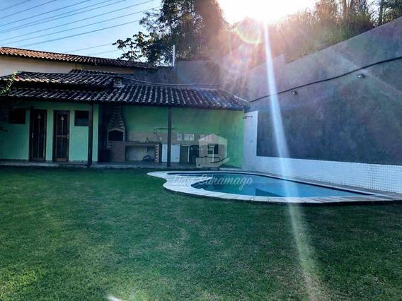 Casa Com 2 Dormitórios, Piscina, Mobiliada, À Venda, 92 M² Por R$ 350.000 - Maria Paula - Niterói/rj - Ca0355