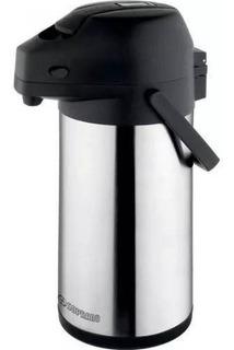 Garrafa Térmica Soprano 2,2 Litros 100% Aço Inox - Excelence