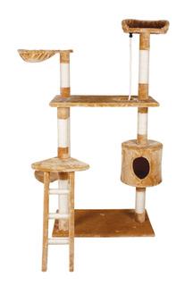 Fancypets Fl8459 Mueble Para Gato Con Casa Y Escalera, 158 C
