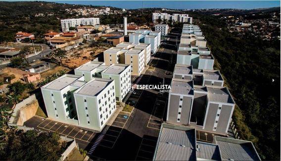 Apartamento Com 2 Dormitórios À Venda, 56 M² Por R$ 150.000 - Vila Rica - Lagoa Santa/mg - Ap0077