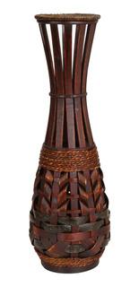 Jarrón De Bambú Diseño Mirissa De 84 Cm