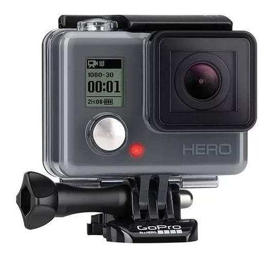 Gopro Hero Com Microfone Para Capacete.