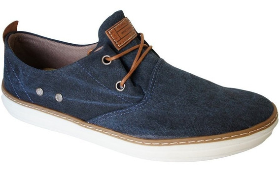 Sapatenis West Coast Lona Cadarço - 118610 Jeans