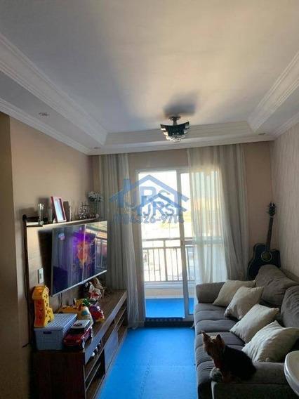 Apartamento Com 2 Dormitórios À Venda, 49 M² Por R$ 230.000 - Parque Jandaia - Carapicuíba/sp - Ap3353