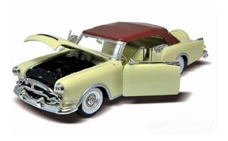 Auto Packard Caribbean 1953 Welly Metal 1:24 Mi Cielo Azul