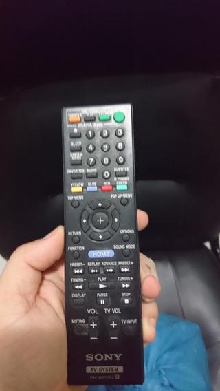 Controle Remoto Sony Do Home Theather Sony Bdv-e370 Original