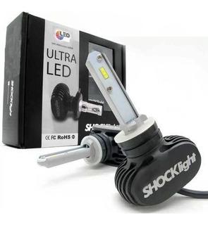 Kit Lampada De Led Ultraled Hb4 Super Branco 6000k 50w