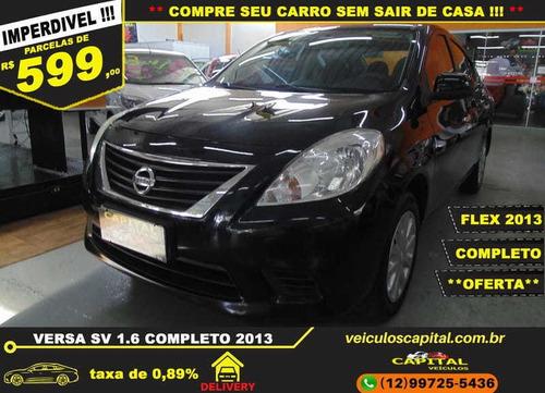 Nissan Versa 1.6 Sv Flex Mec