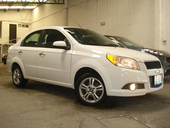Chevrolet Aveo Ltz Aut Factura Agencia R15 Bt Cámara Reversa