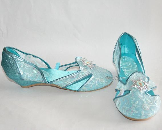 Sapato Princesa Elza Original Da Disney Store P/entrega