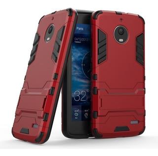 Funda Case Moto G5 Plus Xt1680 + Mica Semi Curva 5d