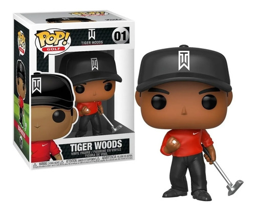 Funko Pop Tiger Woods Golf # 01 Original