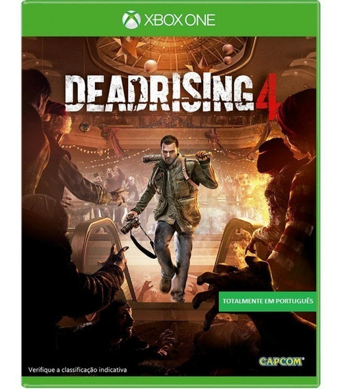 Deadrising 4 - Mídia Física Lacrada - Xbox One