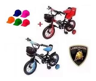 Bicicleta Infantil Rod12 Rueditas Lamborghini Baby Shopping