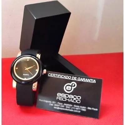 Relógio De Pulso Feminino Preto