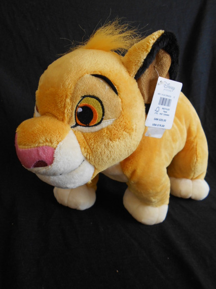 Boneco De Pelúcia - Rei Leão - Simba - Disney Original