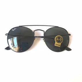 4a0b1366d Óculos De Sol Ray Ban Masculino Feminino Double Bridge + Uv