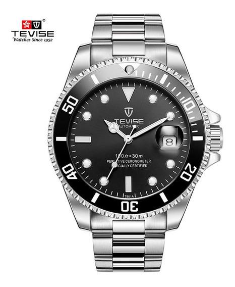 Relógio Masculino Tevise T801 Menor Preço Frete Brinde
