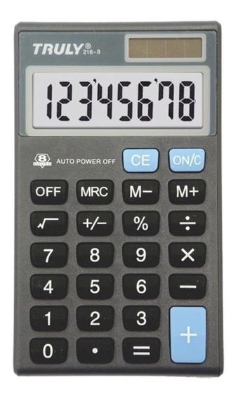 Calculadora Pessoal Truly 216-8 8 Dígitos