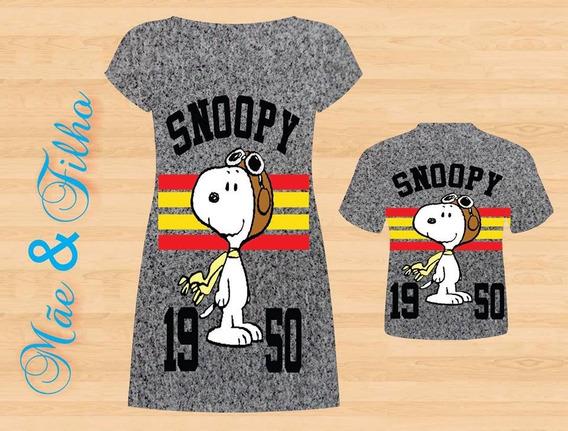 Vestido E Blusa Mãe E Filho - Snoop Antique