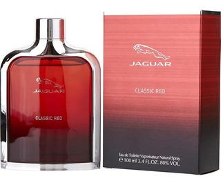 Jaguar Classic Red Caballero 100 Ml Edt Spray - Original