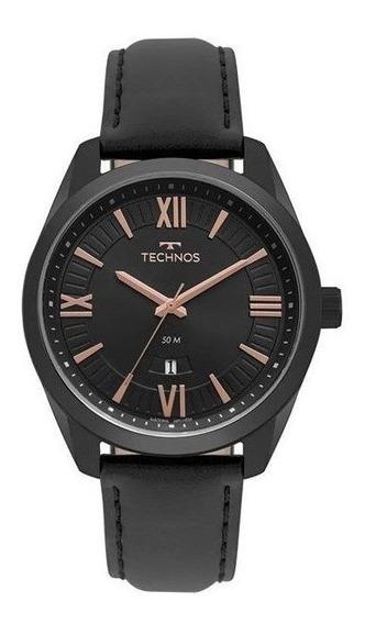 Relógio Technos Masculino Steel Preto 2115msp/4p