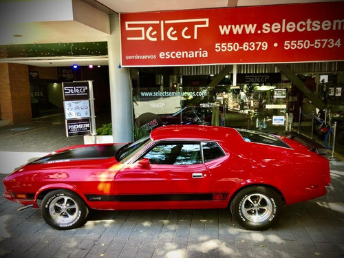 Coche Clásico Ford Mustang Mach 1, 1973