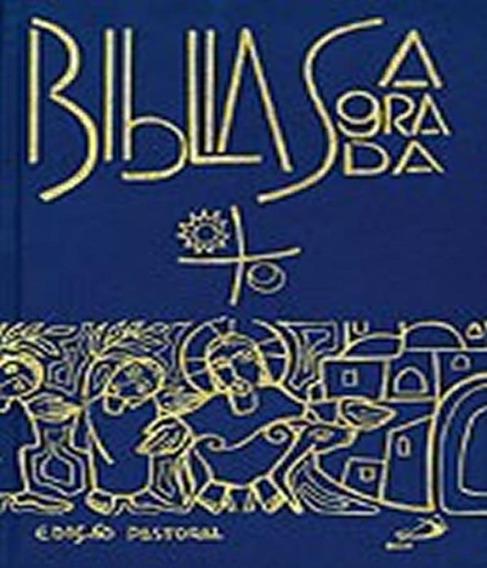 Biblia Sagrada - Edicao Pastoral - Media Capa Cristal