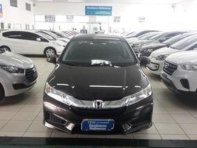 Honda City 1.5 Ex Flex Aut. 4p Marrom