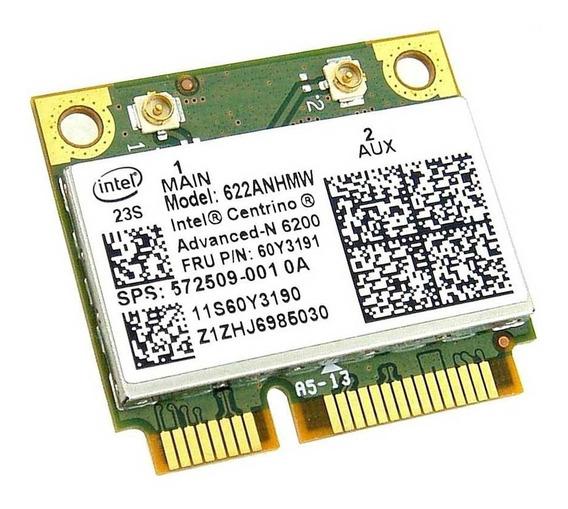 Tarjeta Wifi Laptop Doble Banda Intel Centrino Advanced-6200